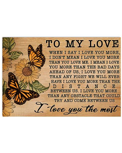 Butterfly I Love You More GG V2