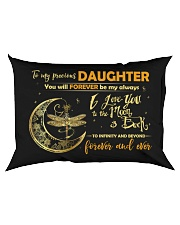 You Will Forever Be My Always Dragonfly  Rectangular Pillowcase back