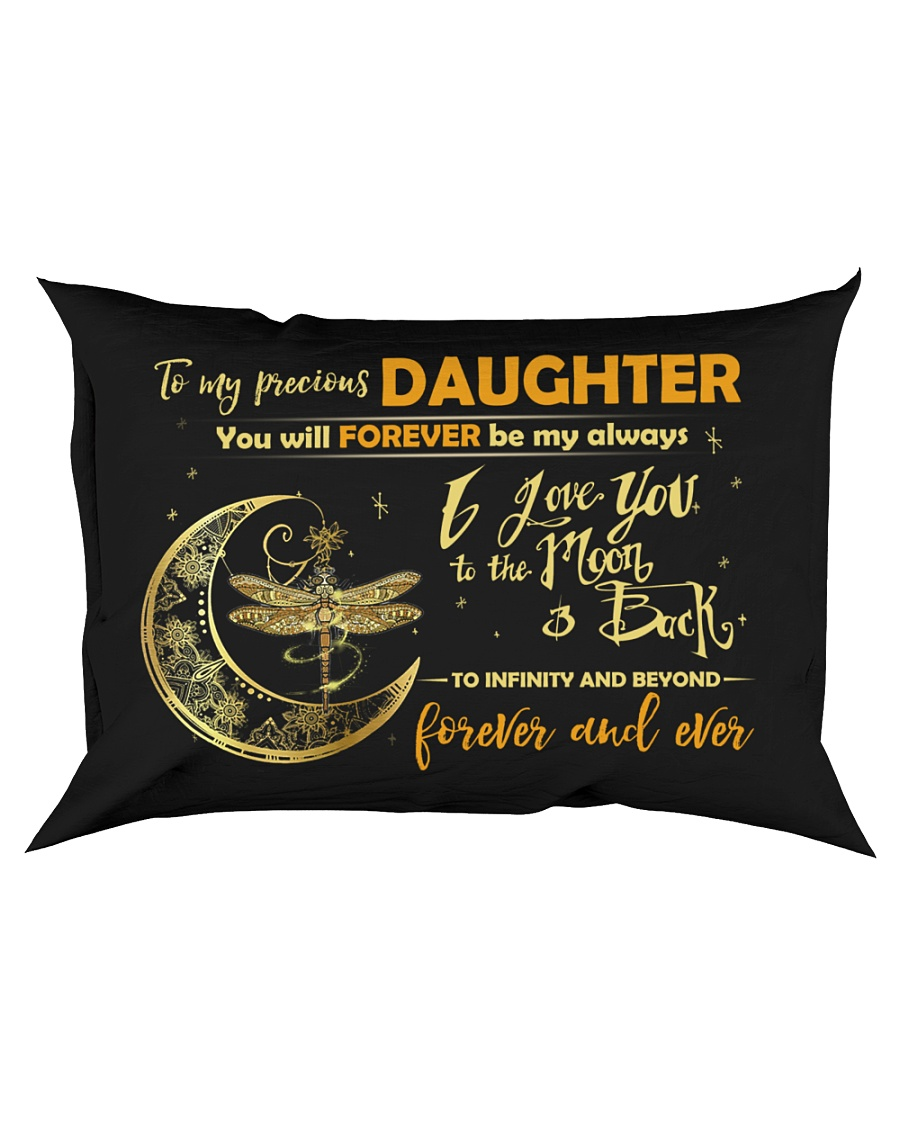 You Will Forever Be My Always Dragonfly  Rectangular Pillowcase
