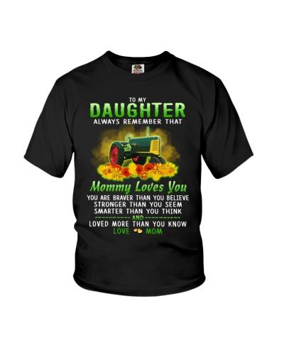 Farmer Daughter Mom Mommy Loves You