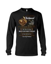 I Have A Wonderful Husband Mechanic Long Sleeve Tee thumbnail