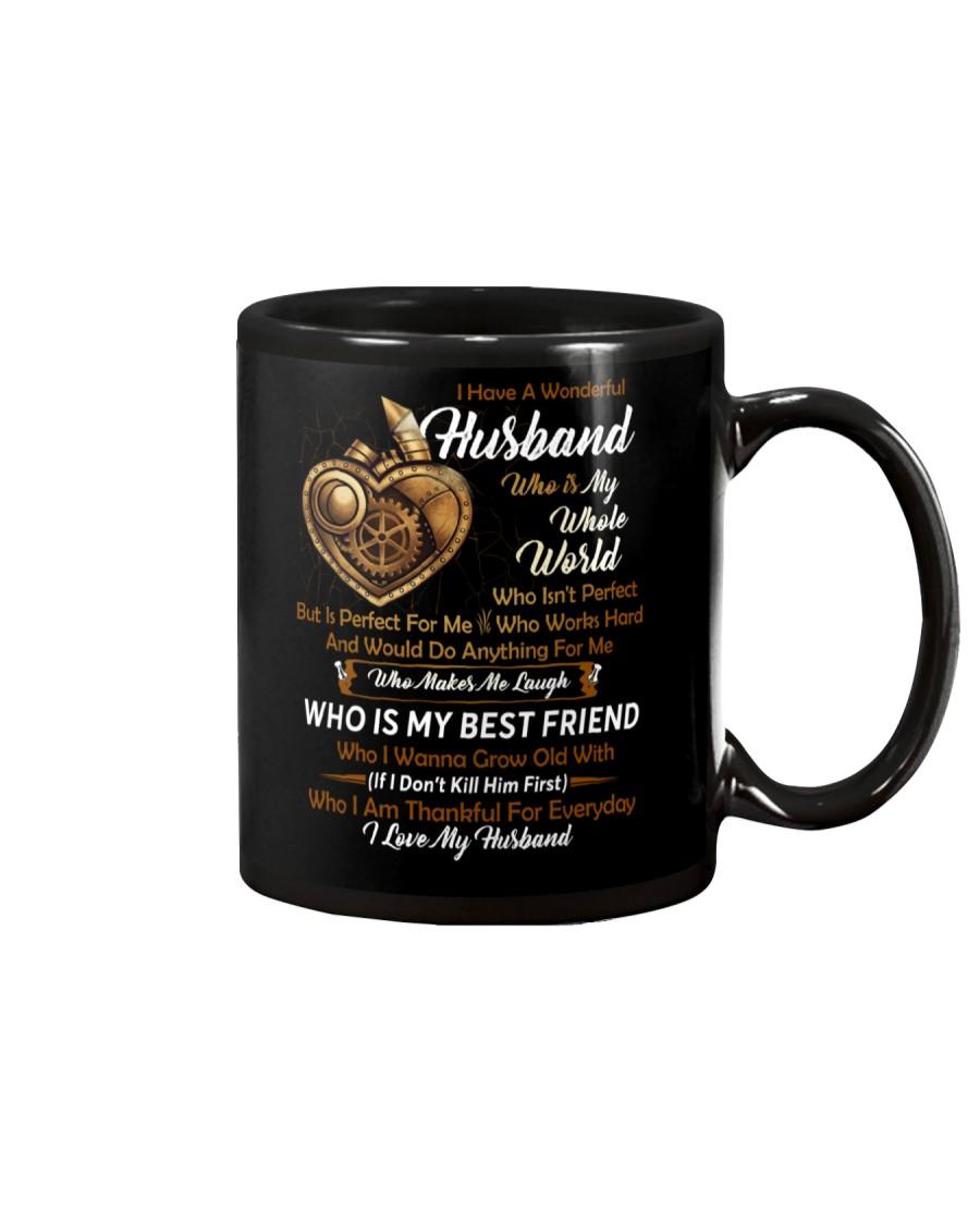 I Have A Wonderful Husband Mechanic Mug