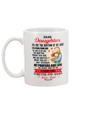 Daughter Dad A Blessing From God Mug CC Mug back