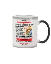 Daughter Dad A Blessing From God Mug CC Color Changing Mug thumbnail