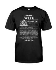 My Wife Believe Deep In Your Heart Freemason Classic T-Shirt thumbnail