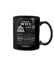 My Wife Believe Deep In Your Heart Freemason Mug front