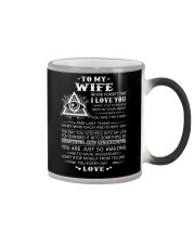 My Wife Believe Deep In Your Heart Freemason Color Changing Mug thumbnail