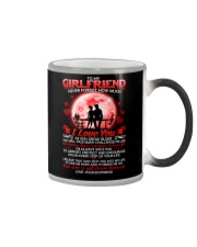 Family Girlfriend I'm always with you Color Changing Mug thumbnail