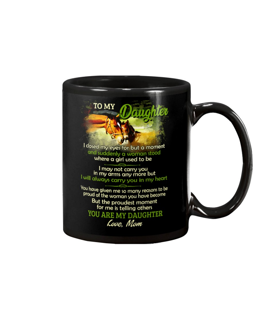 I Closed My Eyes For But A Moment Farm Daughter Mug