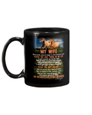 Words Begin To Tell How I Feel Horse Wife Mug back