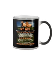 Words Begin To Tell How I Feel Horse Wife Color Changing Mug thumbnail