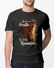 As Long As I Breath You'll Be Remembered Horse  Classic T-Shirt lifestyle-mens-crewneck-front-13