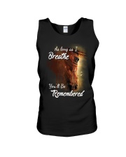 As Long As I Breath You'll Be Remembered Horse  Unisex Tank thumbnail