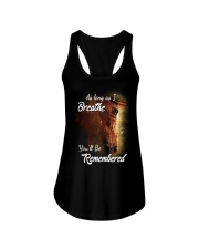 As Long As I Breath You'll Be Remembered Horse  Ladies Flowy Tank thumbnail
