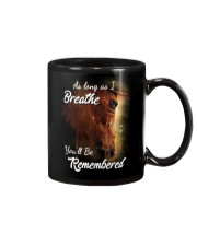 As Long As I Breath You'll Be Remembered Horse  Mug tile