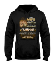 To My Son It's Not A Perfect Life Owl  Hooded Sweatshirt thumbnail