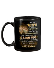 To My Son It's Not A Perfect Life Owl  Mug back