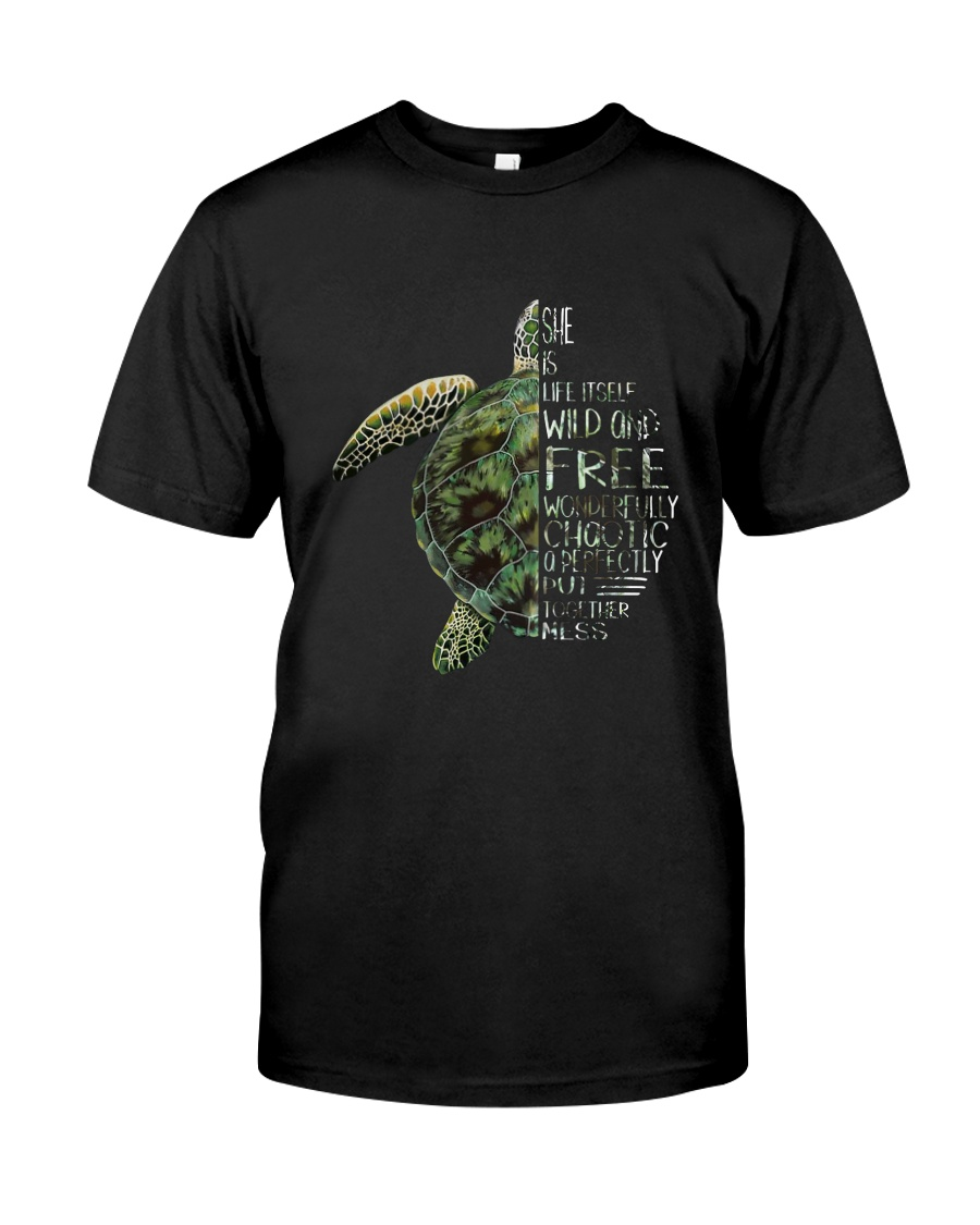 A Perfectly Put Together Mess Turtle Classic T-Shirt