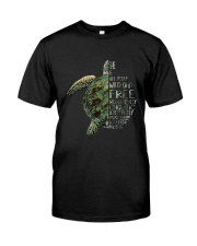 A Perfectly Put Together Mess Turtle Classic T-Shirt front