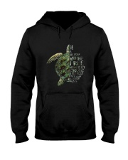 A Perfectly Put Together Mess Turtle Hooded Sweatshirt thumbnail