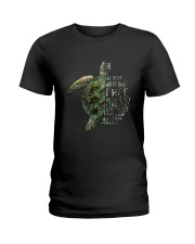 A Perfectly Put Together Mess Turtle Ladies T-Shirt thumbnail