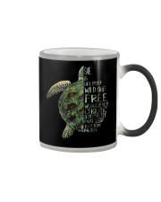 A Perfectly Put Together Mess Turtle Color Changing Mug thumbnail