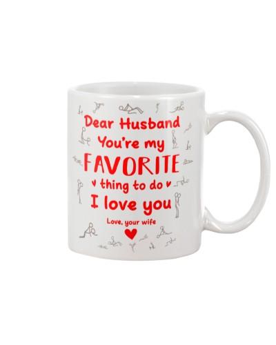 Husband My Favorite Thing To Do Mug CC