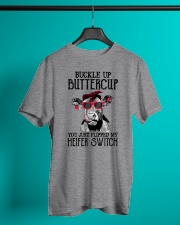 Buckle Up Buttercup Cow Classic T-Shirt lifestyle-mens-crewneck-front-3