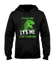 It's Not You It's Me I Can't Stand You Dinosaur Hooded Sweatshirt thumbnail