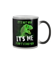 It's Not You It's Me I Can't Stand You Dinosaur Color Changing Mug thumbnail