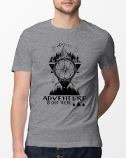 HIKING Adventure is out there Classic T-Shirt lifestyle-mens-crewneck-front-13
