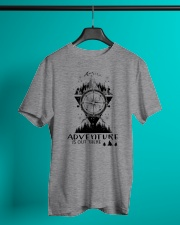 HIKING Adventure is out there Classic T-Shirt lifestyle-mens-crewneck-front-3