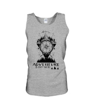 HIKING Adventure is out there Unisex Tank thumbnail