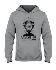 HIKING Adventure is out there Hooded Sweatshirt thumbnail
