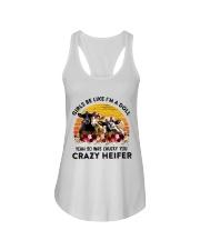 I'm A Doll So Was Chucky You Crazy Heifer Ladies Flowy Tank thumbnail