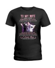 I Wish I Could Turn Back The Clock Cat Ladies T-Shirt thumbnail