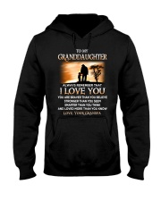 Family Granddaughter Grandpa I Love You Hooded Sweatshirt thumbnail