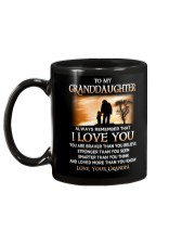 Family Granddaughter Grandpa I Love You Mug back