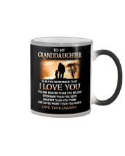 Family Granddaughter Grandpa I Love You Color Changing Mug thumbnail