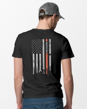 Flag Mechanic Classic T-Shirt lifestyle-mens-crewneck-back-6