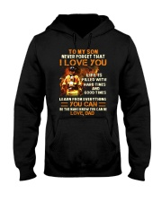 Life Is Filled With Hard Times Firefighter Hooded Sweatshirt thumbnail