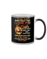Life Is Filled With Hard Times Firefighter Color Changing Mug thumbnail