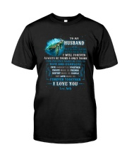To My Husband  No Matter What Happens Turtle Classic T-Shirt thumbnail