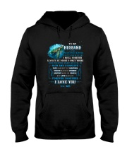 To My Husband  No Matter What Happens Turtle Hooded Sweatshirt thumbnail
