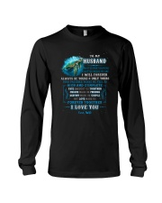 To My Husband  No Matter What Happens Turtle Long Sleeve Tee thumbnail