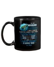 To My Husband  No Matter What Happens Turtle Mug back