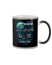 To My Husband  No Matter What Happens Turtle Color Changing Mug thumbnail