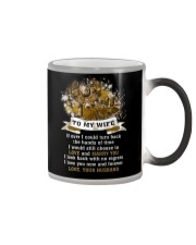 I Could Turn Back The Hands Of Time Hunting  Color Changing Mug thumbnail