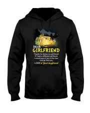 Thanks For Being My Girlfriend Camping Hooded Sweatshirt thumbnail