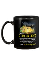 Thanks For Being My Girlfriend Camping Mug back
